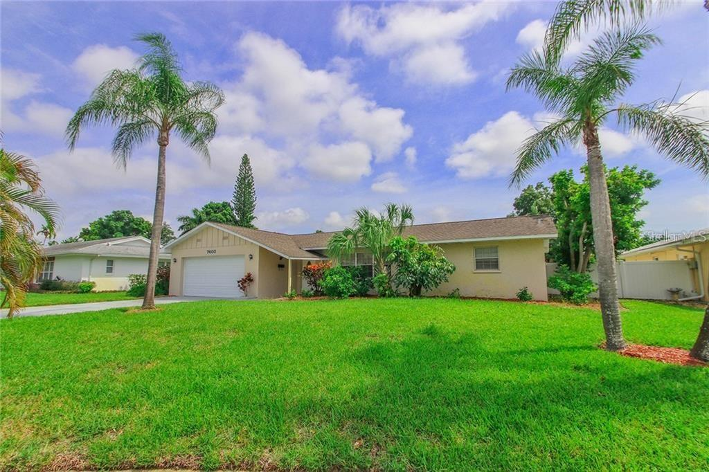 Front View - Single Family Home for sale at 7403 13th Avenue Dr W, Bradenton, FL 34209 - MLS Number is A4466662