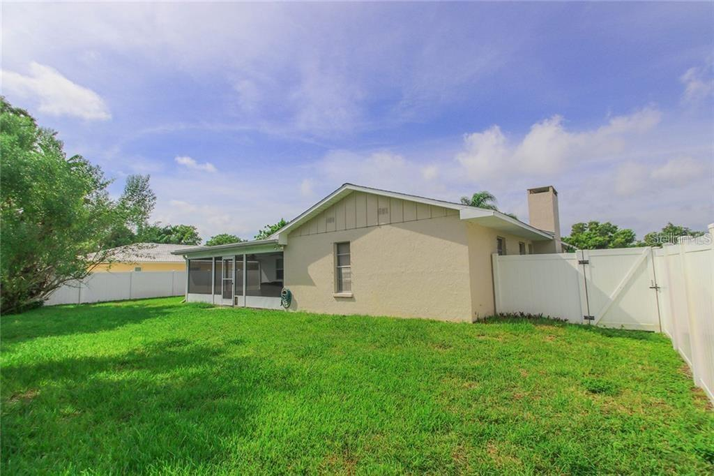 Gate to back yard - Single Family Home for sale at 7403 13th Avenue Dr W, Bradenton, FL 34209 - MLS Number is A4466662