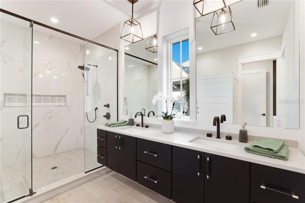 Remarkable master en suite bathroom! - Single Family Home for sale at 217 Willow Ave, Anna Maria, FL 34216 - MLS Number is A4466825