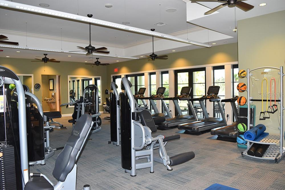 fitness center - Single Family Home for sale at 11196 Whimbrel Ln, Sarasota, FL 34238 - MLS Number is A4471096
