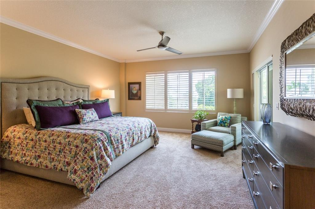 Master Bedroom - Condo for sale at 1308 Old Stickney Point Rd #W24, Sarasota, FL 34242 - MLS Number is A4471155