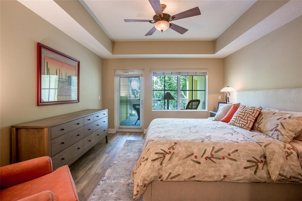 2nd bedroom with private balcony - Condo for sale at 1308 Old Stickney Point Rd #W24, Sarasota, FL 34242 - MLS Number is A4471155