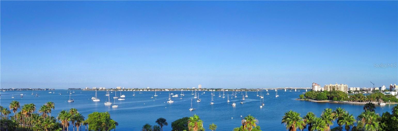 Forever Bay & City Views - Condo for sale at 605 S Gulfstream Ave #4s, Sarasota, FL 34236 - MLS Number is A4471977