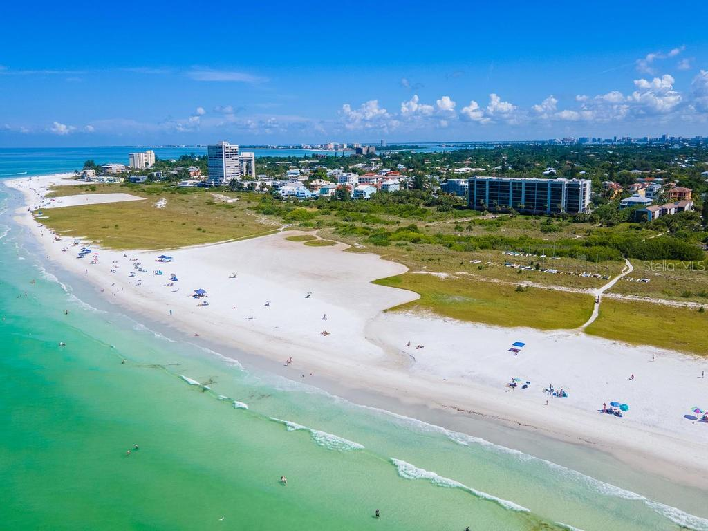 White sand beaches of Siesta Key - Single Family Home for sale at 500 Beach Rd #1, Sarasota, FL 34242 - MLS Number is A4474527