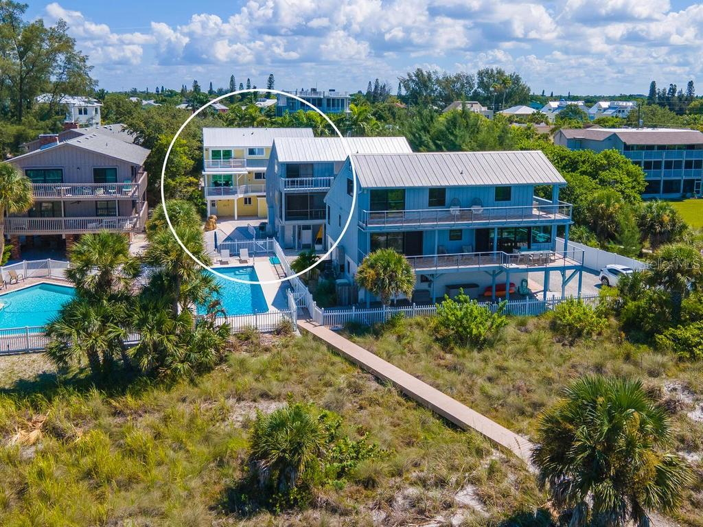It doesn't get better than this!  Beach living at it's finest - Single Family Home for sale at 500 Beach Rd #1, Sarasota, FL 34242 - MLS Number is A4474527