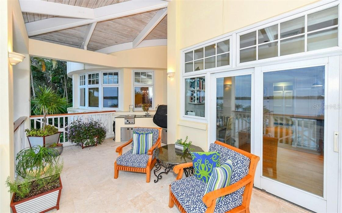 Kitchen Porch - Single Family Home for sale at 612 Juan Anasco Dr, Longboat Key, FL 34228 - MLS Number is A4475444
