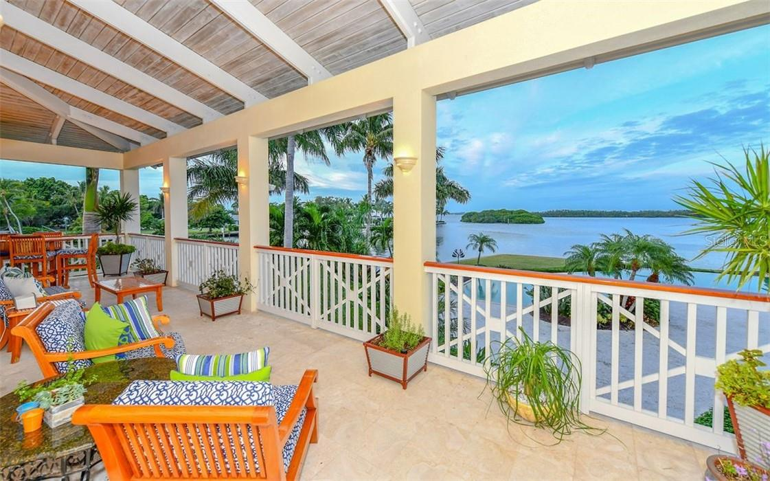 porch view - Single Family Home for sale at 612 Juan Anasco Dr, Longboat Key, FL 34228 - MLS Number is A4475444