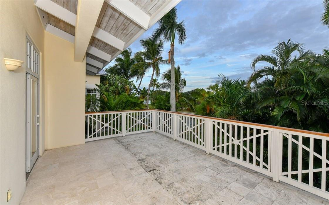 Bedroom porch - Single Family Home for sale at 612 Juan Anasco Dr, Longboat Key, FL 34228 - MLS Number is A4475444