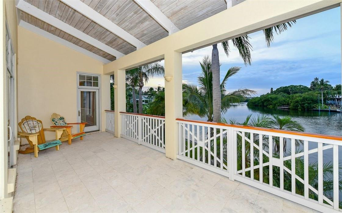 Guest house porch - Single Family Home for sale at 612 Juan Anasco Dr, Longboat Key, FL 34228 - MLS Number is A4475444