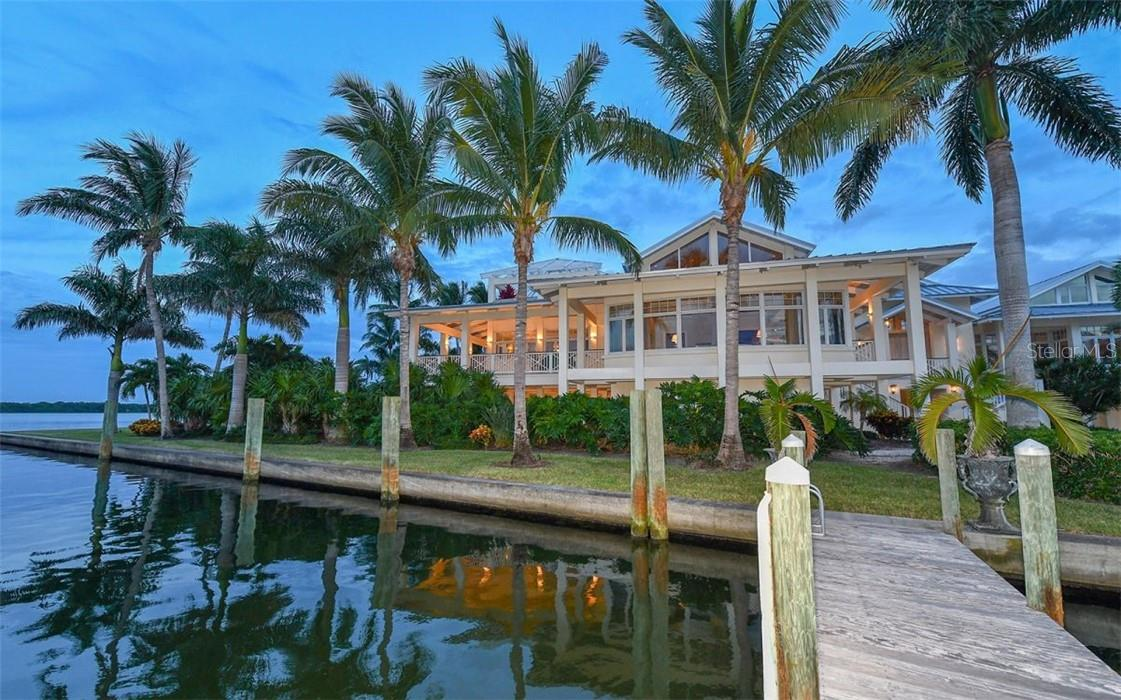 Sailboat dock one of three - Single Family Home for sale at 612 Juan Anasco Dr, Longboat Key, FL 34228 - MLS Number is A4475444