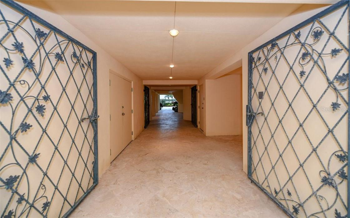 Entry area to garage and backyard - Single Family Home for sale at 612 Juan Anasco Dr, Longboat Key, FL 34228 - MLS Number is A4475444
