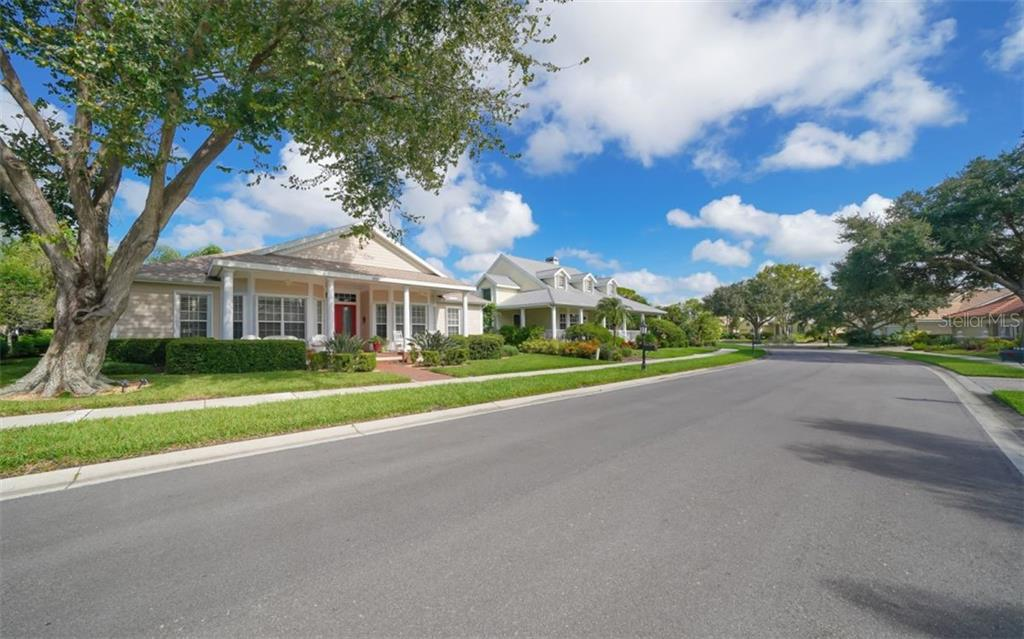 Friendly neighborhood with winding sidewalks, just minutes to beaches and parks. - Single Family Home for sale at 759 Shadow Bay Way, Osprey, FL 34229 - MLS Number is A4478456