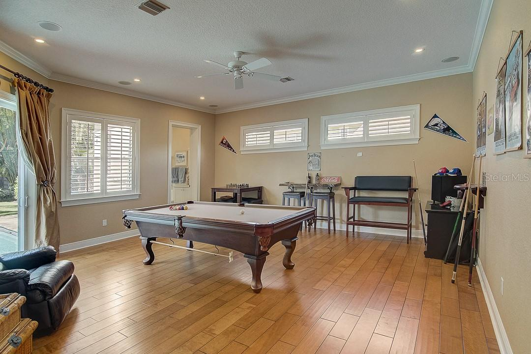 Game room/movie theater - Single Family Home for sale at 1839 Buccaneer Ct, Sarasota, FL 34231 - MLS Number is A4479580