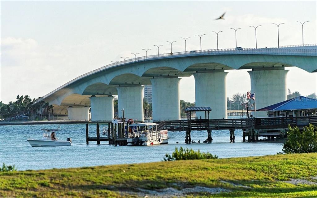 Under the John Ringling Bridge - Condo for sale at 1155 N Gulfstream Ave #1701, Sarasota, FL 34236 - MLS Number is A4480090