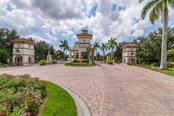 Entrance Gate to The Islands on the Manatee River - Single Family Home for sale at 11823 River Shores Trl, Parrish, FL 34219 - MLS Number is A4194999