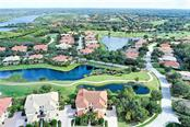 Overhead view of unit plus a good view of Waterlefe! - Condo for sale at 9453 Discovery Ter #201c, Bradenton, FL 34212 - MLS Number is A4423314