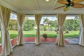 Lanai from master bedroom - Villa for sale at 717 Spanish Dr N, Longboat Key, FL 34228 - MLS Number is A4438337