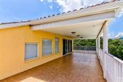 2nd Floor Patio - Single Family Home for sale at 811 Jungle Queen Way, Longboat Key, FL 34228 - MLS Number is A4438987