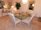 DINING AREA - Villa for sale at 6351 Stone River Rd, Bradenton, FL 34203 - MLS Number is A4444928