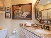 Bedroom 3 bathroom, sink fixtures do not convey - Single Family Home for sale at 1716 Bayshore Dr, Englewood, FL 34223 - MLS Number is A4445961