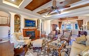 Formal living room - Single Family Home for sale at 7903 Longbay Blvd, Sarasota, FL 34243 - MLS Number is A4449717