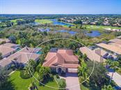 Aerial of home - Single Family Home for sale at 6826 Turnberry Isle Ct, Lakewood Ranch, FL 34202 - MLS Number is A4450601