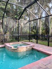 What a lovely way to relax at the end of the day- Heated Spa with the privacy of the Preserve.  Perfection! - Single Family Home for sale at 8111 Santa Rosa Ct, Sarasota, FL 34243 - MLS Number is A4454464