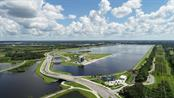 Nathan Benderson Park's 400 acre recreational lake.  Meadows on right. - Townhouse for sale at 5319 Huntingwood Ct #51, Sarasota, FL 34235 - MLS Number is A4460231