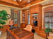 His Study/Entertainment Room - Single Family Home for sale at 6301 Gulf Of Mexico Dr, Longboat Key, FL 34228 - MLS Number is A4460816