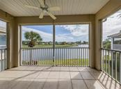 Lanai with beautiful water view - Condo for sale at 119 Woodbridge Dr #204, Venice, FL 34293 - MLS Number is A4461406