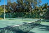 Lighted tennis courts include pickle ball area and basketball area - Condo for sale at 5880 Midnight Pass Rd #911, Sarasota, FL 34242 - MLS Number is A4462559