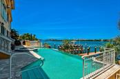 Infinity Edge Pool - Condo for sale at 5923 Midnight Pass Rd #3, Sarasota, FL 34242 - MLS Number is A4465178