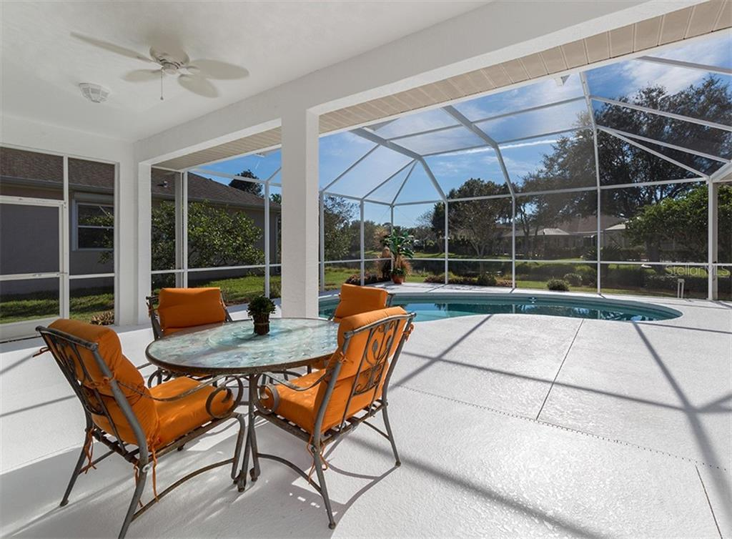 Lanai and pool - Single Family Home for sale at 2201 Sonoma Dr E, Nokomis, FL 34275 - MLS Number is N6103410