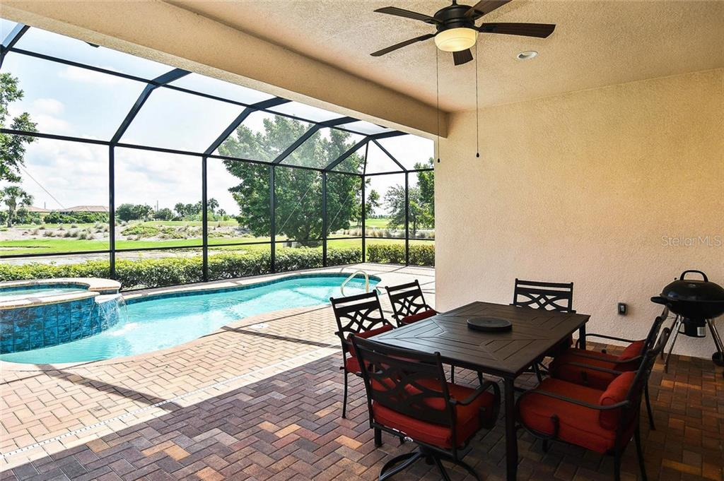 Lanai to pool - Single Family Home for sale at 23763 Waverly Cir, Venice, FL 34293 - MLS Number is N6107580