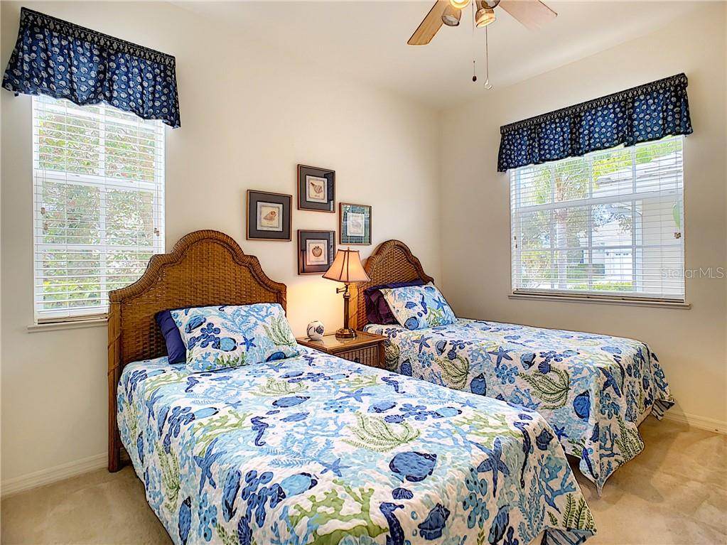 Bright and cheery 2nd bedroom - Condo for sale at 115 Woodbridge Dr #104, Venice, FL 34293 - MLS Number is N6108875