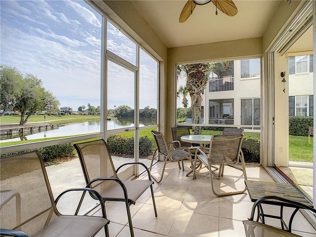 Covered/screened in lanai - Condo for sale at 115 Woodbridge Dr #104, Venice, FL 34293 - MLS Number is N6108875