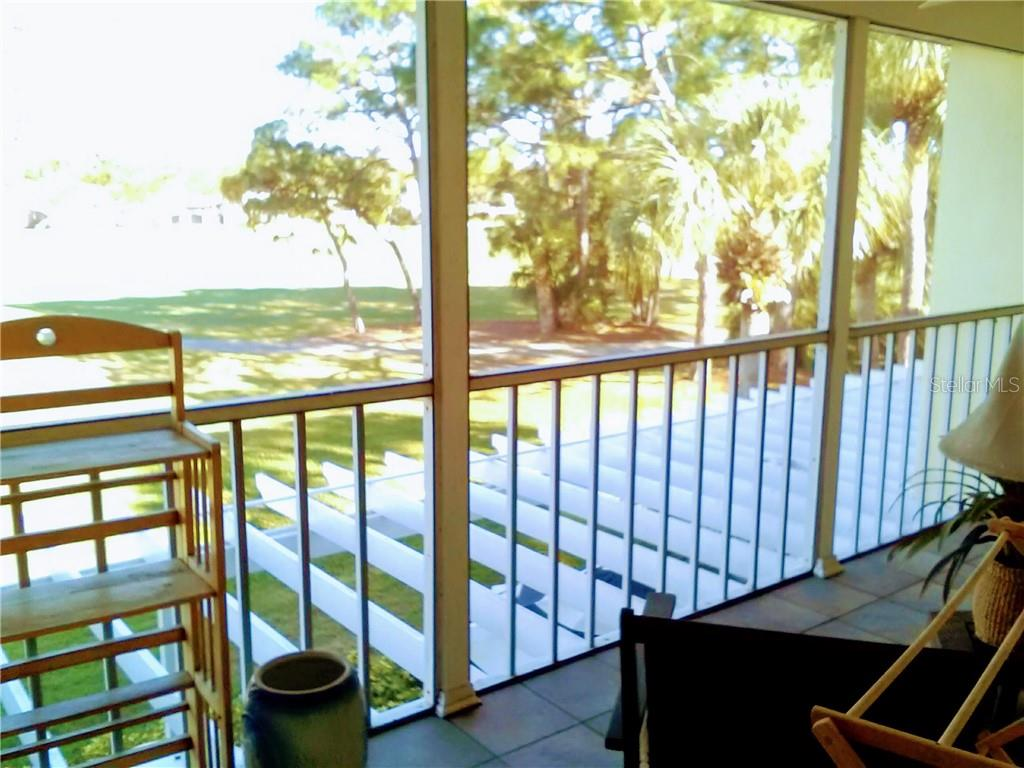 back lanai - Condo for sale at Address Withheld, Venice, FL 34293 - MLS Number is N6109324