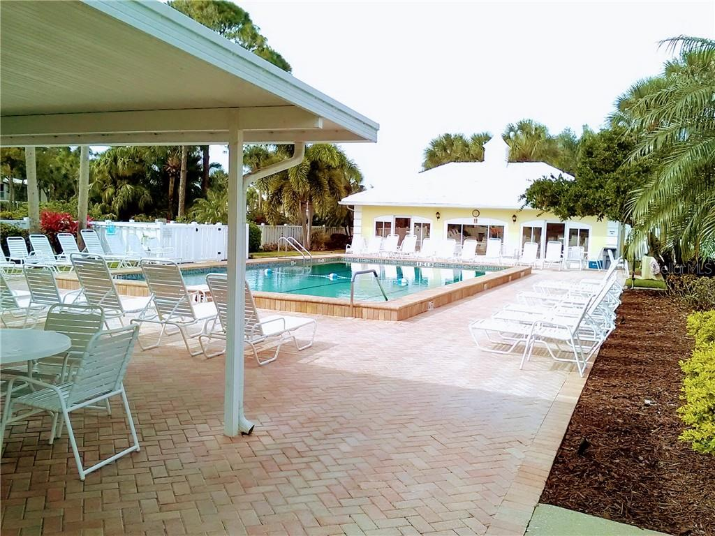 Westchesteer Gardens Community Pool - Condo for sale at Address Withheld, Venice, FL 34293 - MLS Number is N6109324
