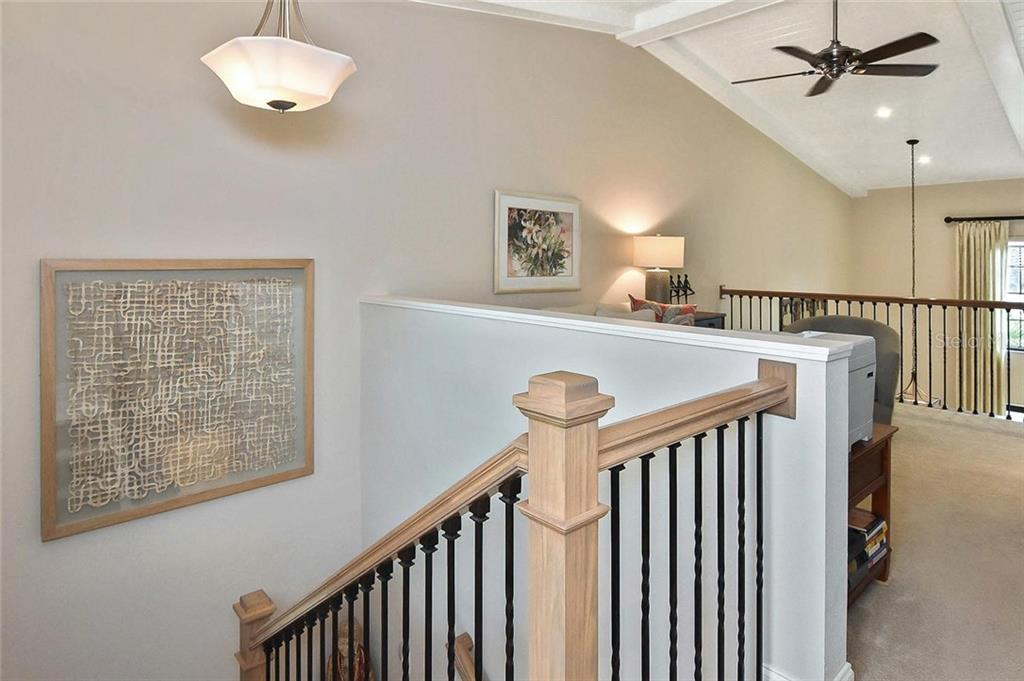 Loft, stairway - Condo for sale at 448 Palmetto Ct #B5, Venice, FL 34285 - MLS Number is N6109553