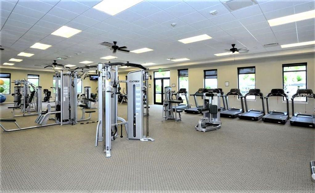 State-of-the-art fitness center - Single Family Home for sale at 23793 Waverly Cir, Venice, FL 34293 - MLS Number is N6112352