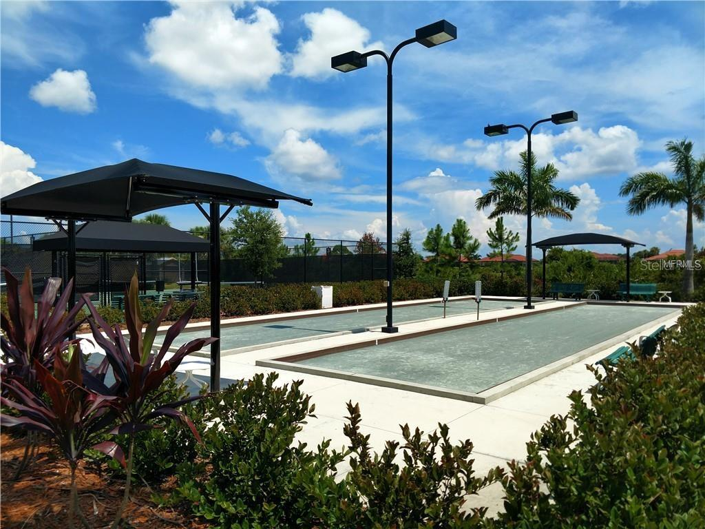 Lighted regulation-size bocce courts - Single Family Home for sale at 23793 Waverly Cir, Venice, FL 34293 - MLS Number is N6112352