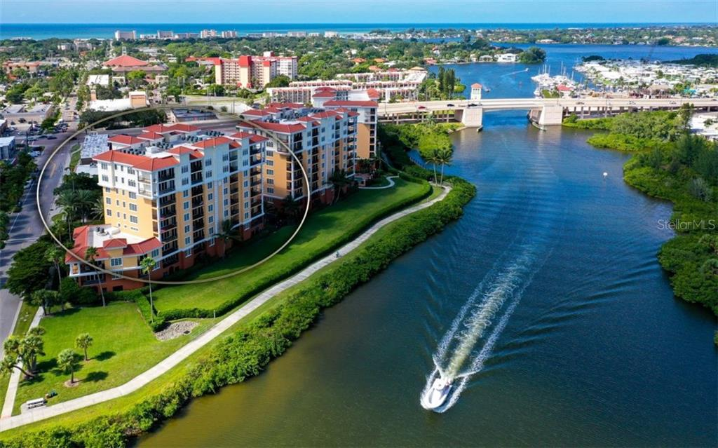 ICW, rear elevation, turnkey - Condo for sale at 167 Tampa Ave E #313, Venice, FL 34285 - MLS Number is N6112536