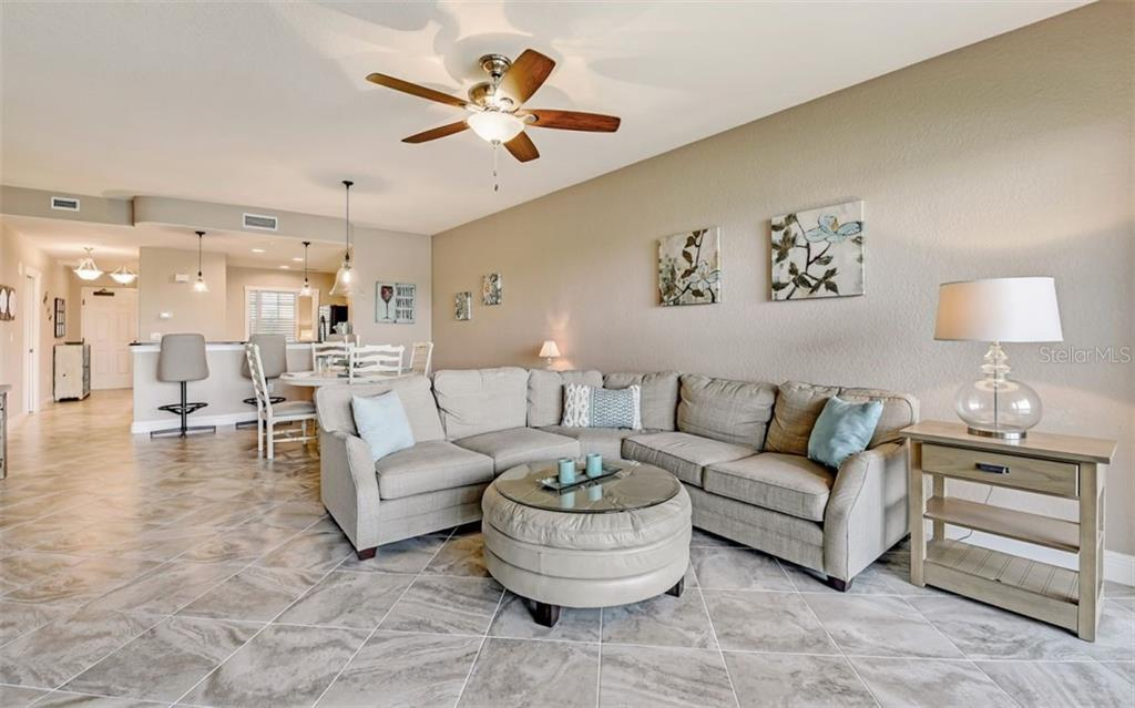 Great room - Condo for sale at 167 Tampa Ave E #313, Venice, FL 34285 - MLS Number is N6112536