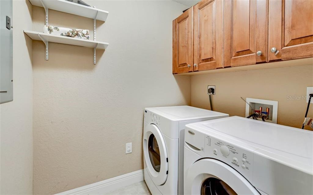 Interior laundry - Condo for sale at 167 Tampa Ave E #313, Venice, FL 34285 - MLS Number is N6112536