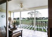Lake view with fountain and Golf Course View - Condo for sale at Address Withheld, Venice, FL 34293 - MLS Number is N6109324