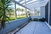 Lanai. Virtually Staged. - Condo for sale at 404 Cerromar Cir N #110, Venice, FL 34293 - MLS Number is N6109897